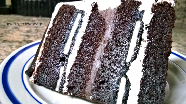 Cookies and Cream Cake Slice
