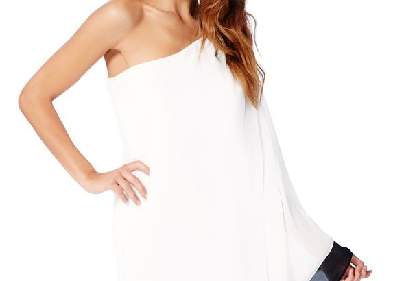 Blackwhite off shoulder dress