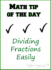 Dividing Fractions Easily