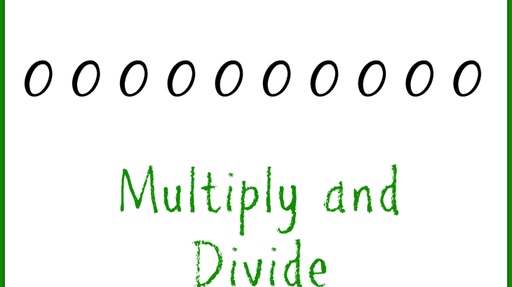 Multiply and Divide with Zeros