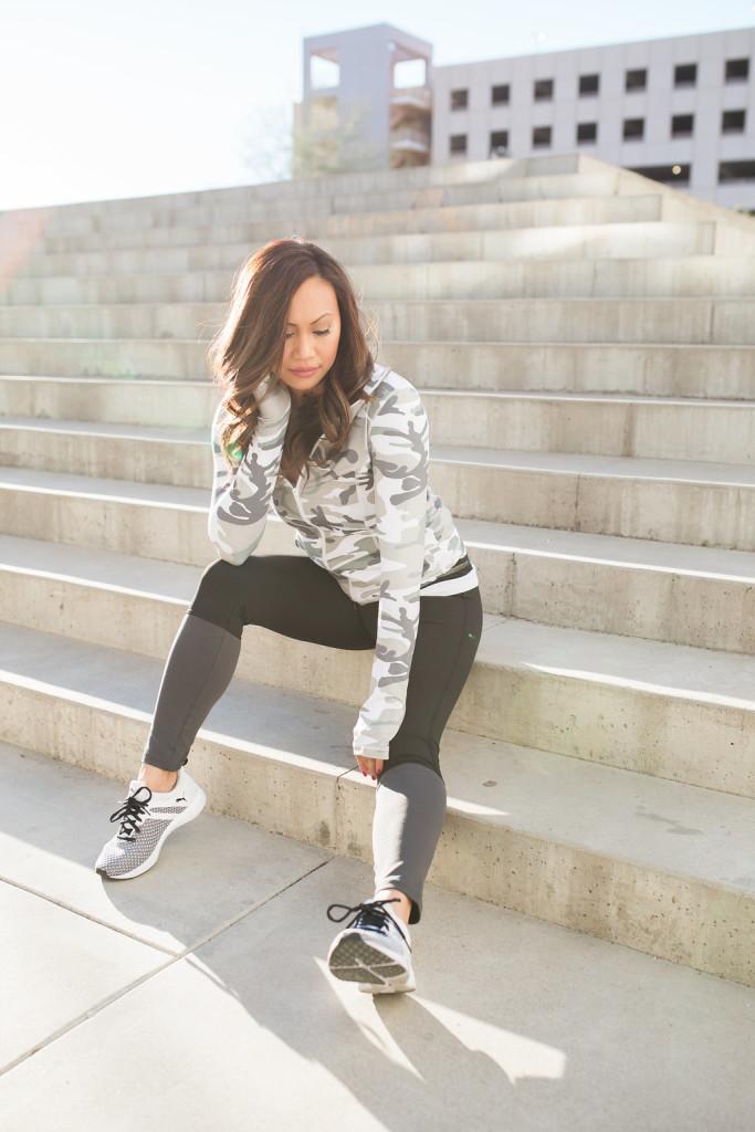 camo fitness wear