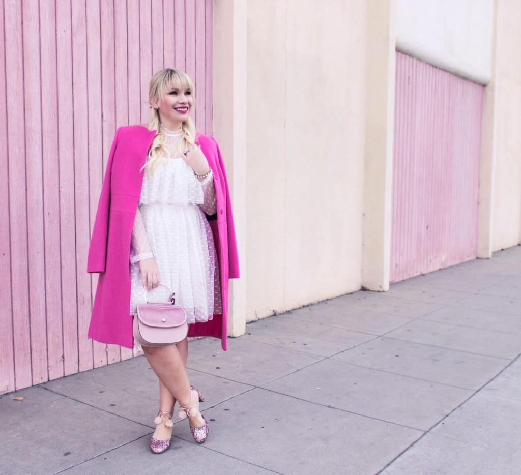 1-pink-boden-coat-chicwish-tulle-dress-kate-spade-glitter-heels-lc-lauren-conrad-handbag-rocksbox-bracelet-feminine-fashion-winter-fashio